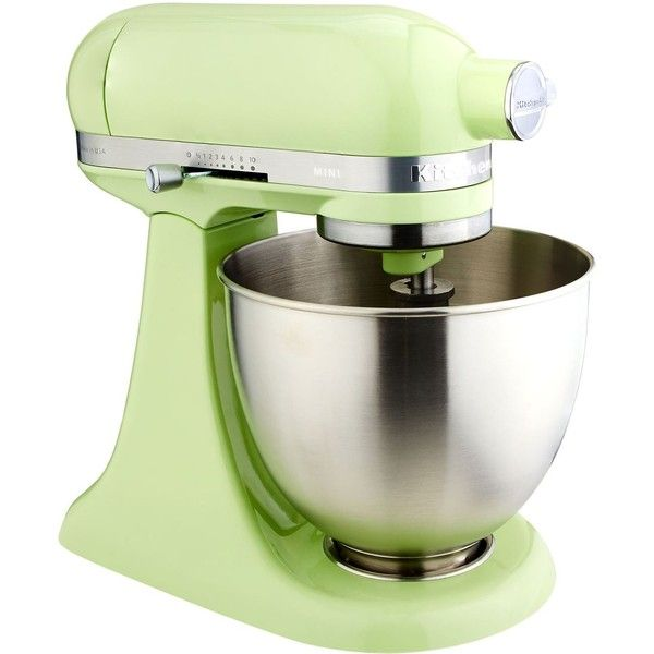 KitchenAid Mini Stand Mixer 3.3L ($590) ❤ liked on Polyvore featuring home, kitchen & dining, small appliances, kitchen aid blender, kitchen aid kettle, kitchen aid tea kettle, kitchen aid mixers and kitchenaid standing mixer