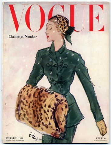 Vogue UK, Carl Erikson, December 1948