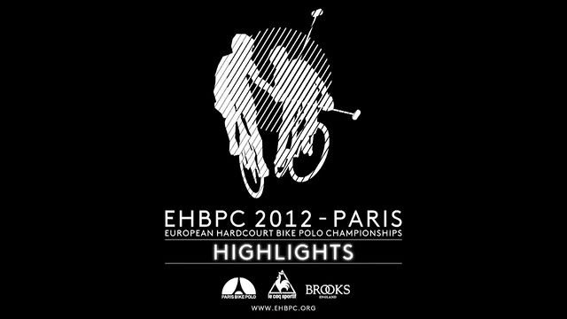 THE EHBPC HIGHLIGHTS by Paris Bike Polo. Here's the post event vidéo of the EHBPC 2012* in Paris. Hope you like the show ;)
