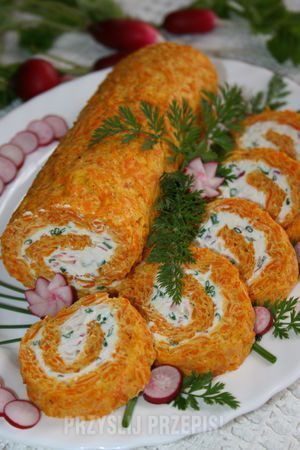 Rolada marchewkowa