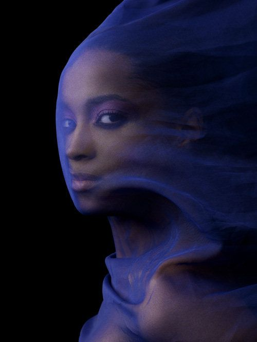 I would really like to take some shots through some sheer fabric, like this. America's Next Top Model Season 13 Ashley