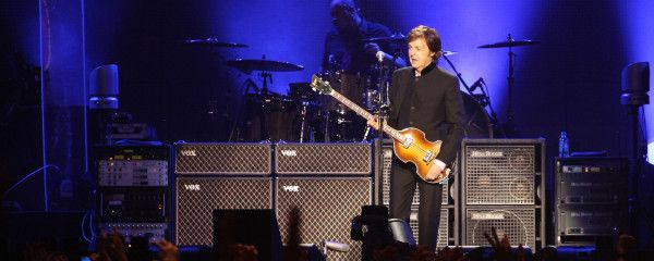 Assad Takes Break from Syrian Civil War to Attend Paul McCartney Concert