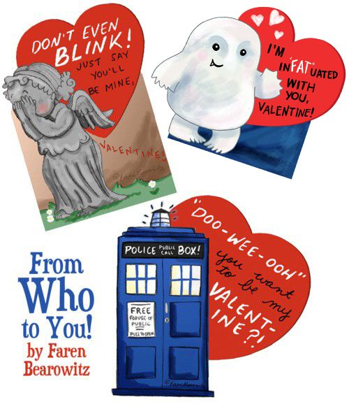 You're not as terrible as you think you are. (If you're interested in Doctor Who Valentines, or...)