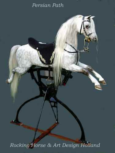 Persian Path:Rocking Horse & Art Design…