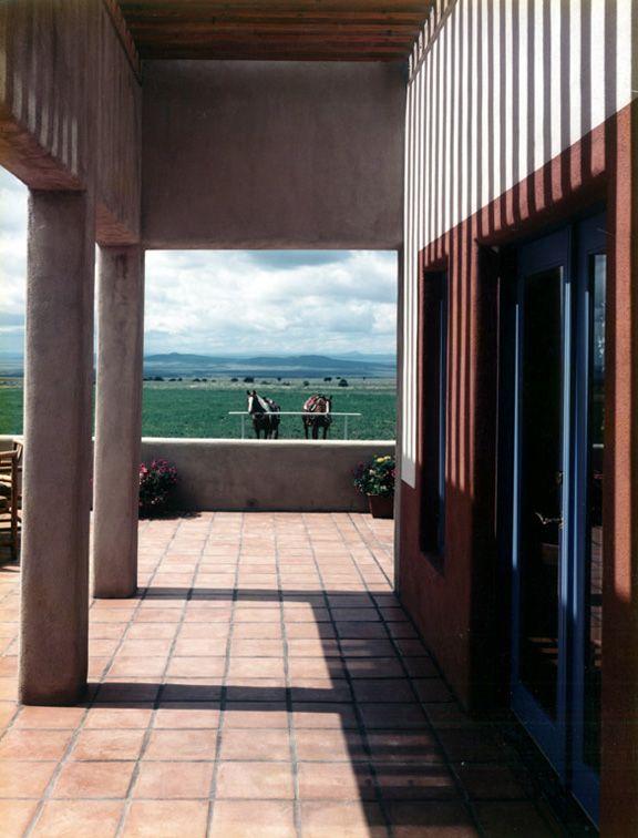 Troy Residence, Taos Nuevo Mexico EEUU - Antoine Predock