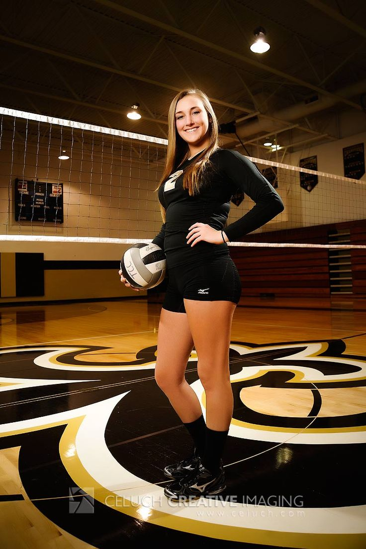 Senior Portrait / Photo / Picture Idea - Volleyball