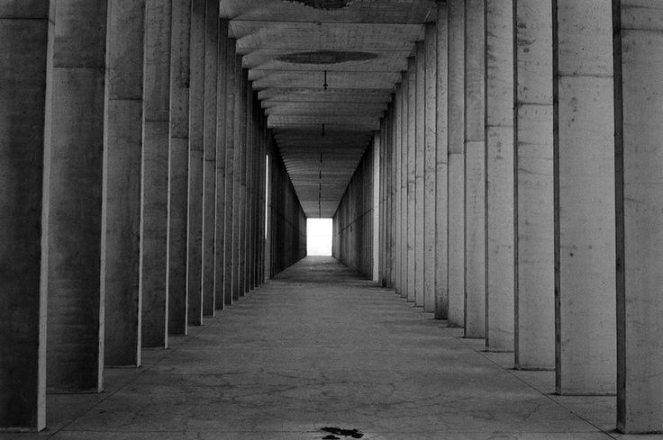 IT, Modena, San Cataldo Cemetery. Architect Aldo Rossi, 1971.