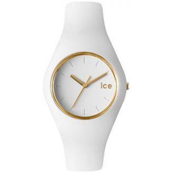 Montre Ice Watch , Montre Ice Glam Blanche Dorée - Femme ICE.GL.WE.U.S.13