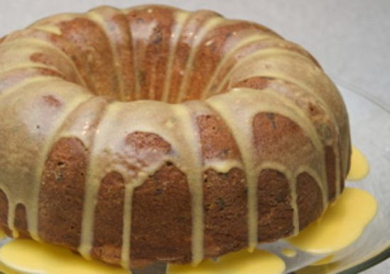 Spice Cake with Rum Caramel Sauce made with Duncan Hines Spice cake ...