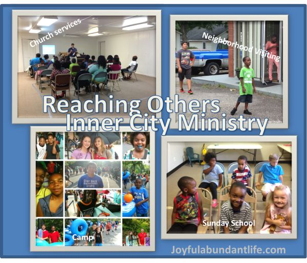 Inner City Ministry - Reaching Our City for Christ