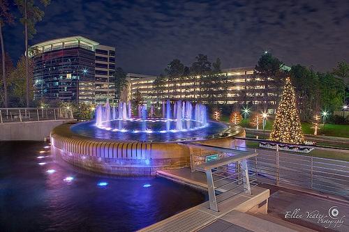 Woodlands Waterway Fountain