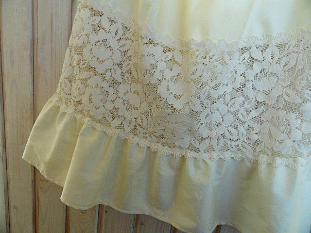 Купить Юбка из хлопка, кремовая юбка с кружевом, в стиле бохо_Bumberiny - юбка из хлопка, хлопковая юбка