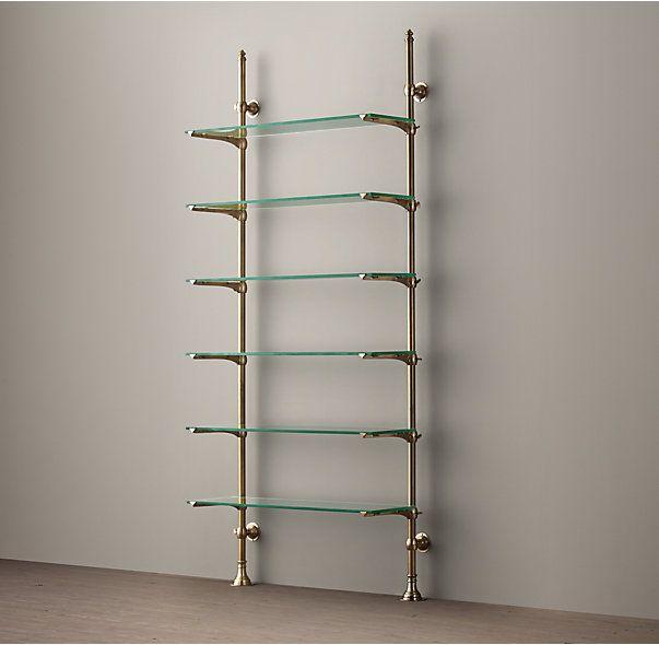 Glass Kitchen Shelves: Best 25+ Glass Shelves Ideas On Pinterest