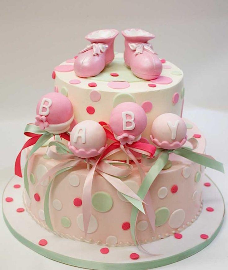 BABY SHOWER CAKE POPS FOR GIRLS   Beautiful Baby Shower Cake Pops 2013