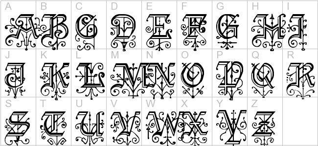 Kelly Ann Gothic Font Design Typography Pinterest