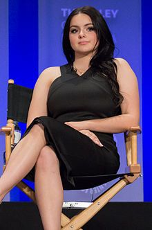 Ariel Winter(1998 - )  at 2015 PaleyFest.jpg - an American actress, singer, and voice actress. She is best known as Alex Dunphy in the TV series Modern Family, as well as the voice of the title character in the Disney Junior show Sofia the First. Winter and her Modern Family castmates have won four Screen Actors Guild Awards for Best Ensemble in a Comedy Series.