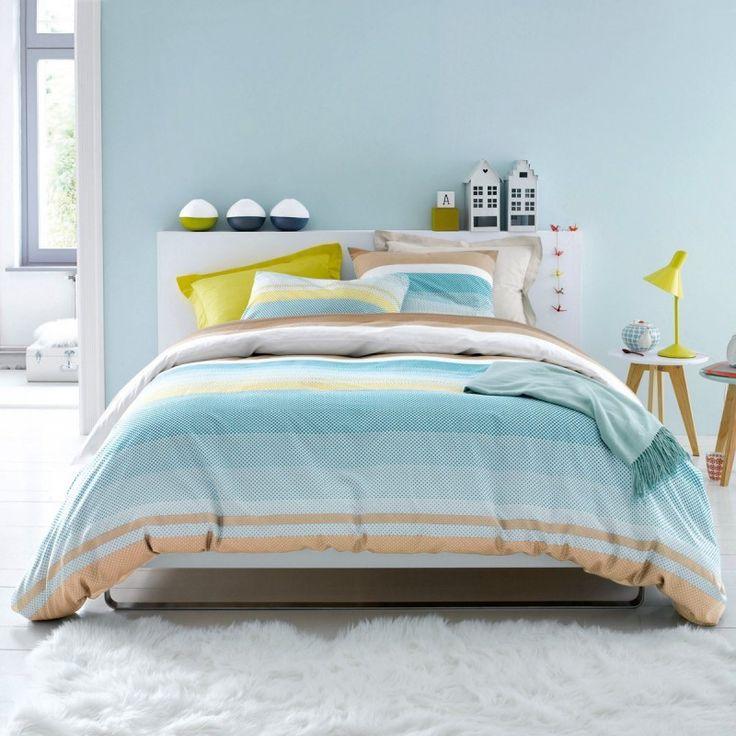 chambre style scandinave bleu. Black Bedroom Furniture Sets. Home Design Ideas