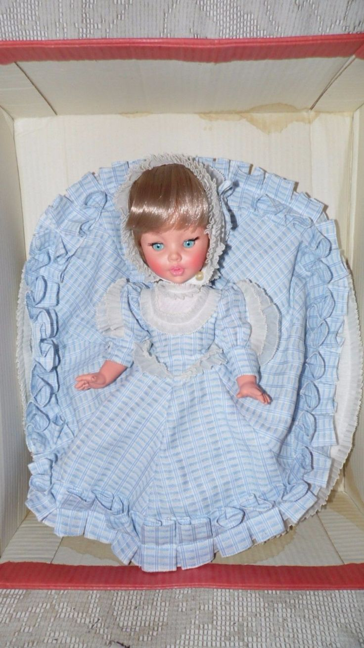 """Vintage Furga Doll made In Italy """"Paolina"""" 14"""" New In Box #38 #6073 by FabulousFinds1 on Etsy"""