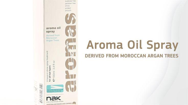 Aromas Oil Spray - nak hair #aromasoil #aromas #arganoil #argan #nakhair