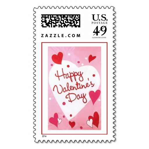 Best Valentine Postage Stamps Images On   A Letter