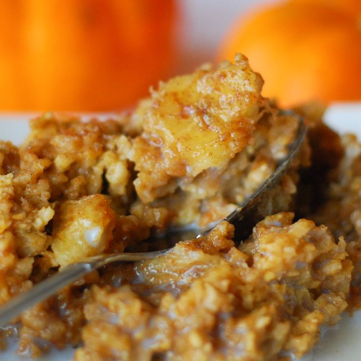 Pumpkin and Caramelized Banana Baked Oatmeal | Interesting ...