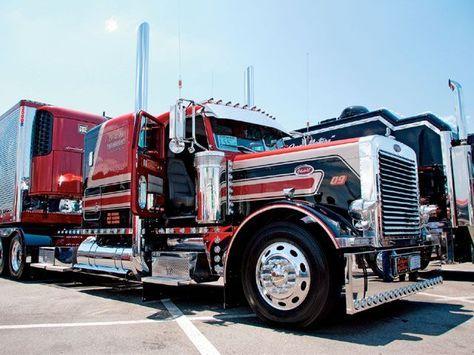 custom Big Rig Truck Show 1990 Peterbilt