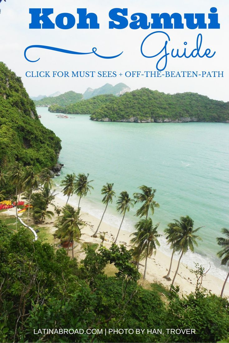CLICK image for First-time Koh Samui Guide | LatinAbroad.com #Thailand #KohSamui