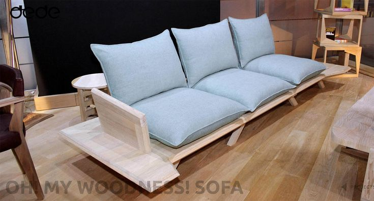 Oh! my woodness! sofa can be packed and re-assembled in minutes