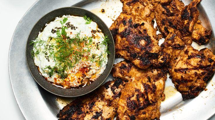 Chile-and-Yogurt-Marinated Grilled Chicken
