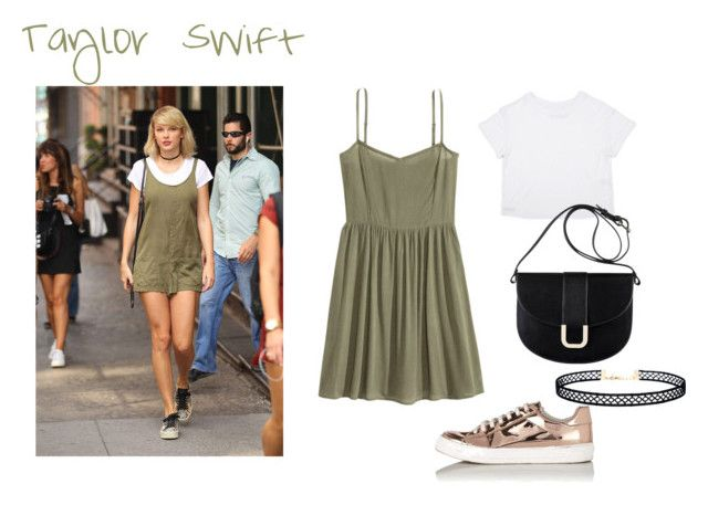 """Taylor Swift style3"" by elisa-itgirl ❤ liked on Polyvore featuring H&M, A.P.C., Miss Selfridge and LULUS"