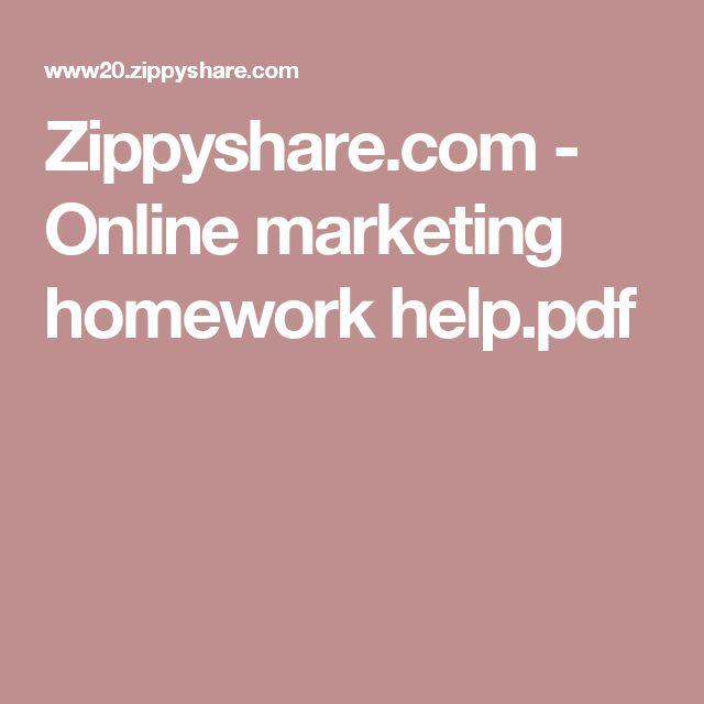 Zippyshare.com - Online marketing homework help.pdf