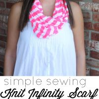 Simple Sewing Knit Infinity Scarves | Amy Giggles Designs