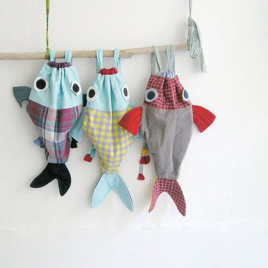 bolsas de tela pez - Buscar con Google