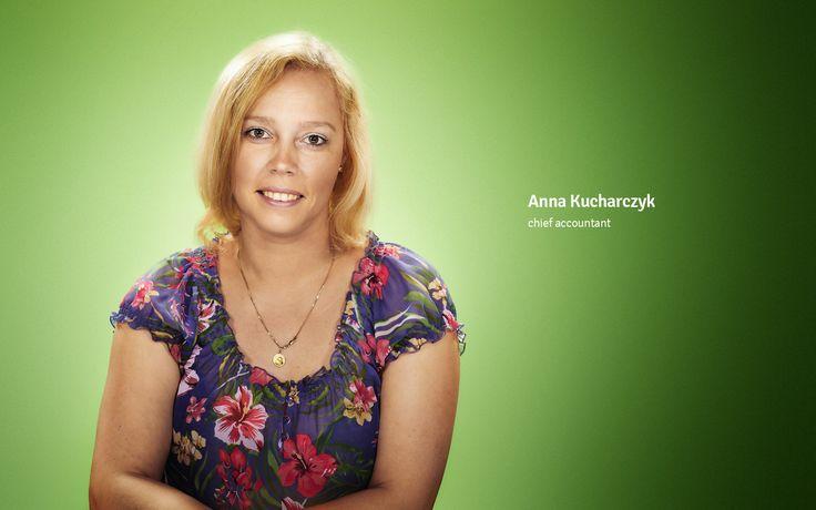 Anna Kucharczyk chief accountant