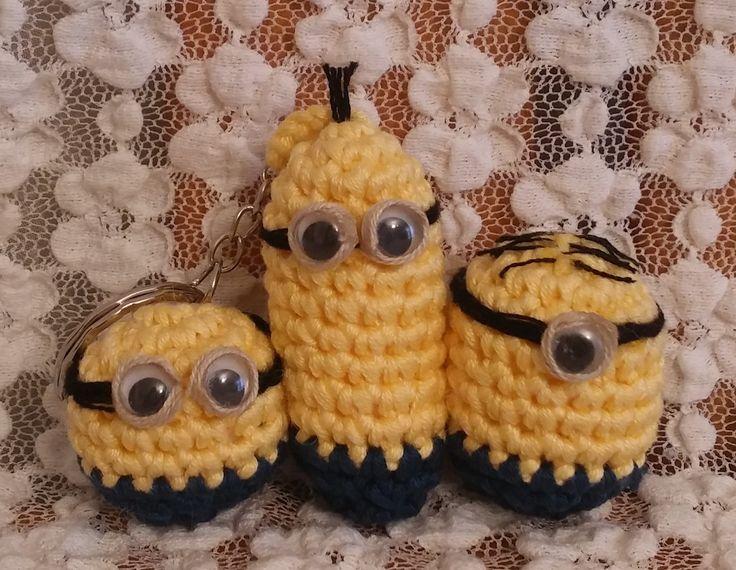 Minions. Amigurumi. Uncinetto. Crochet.