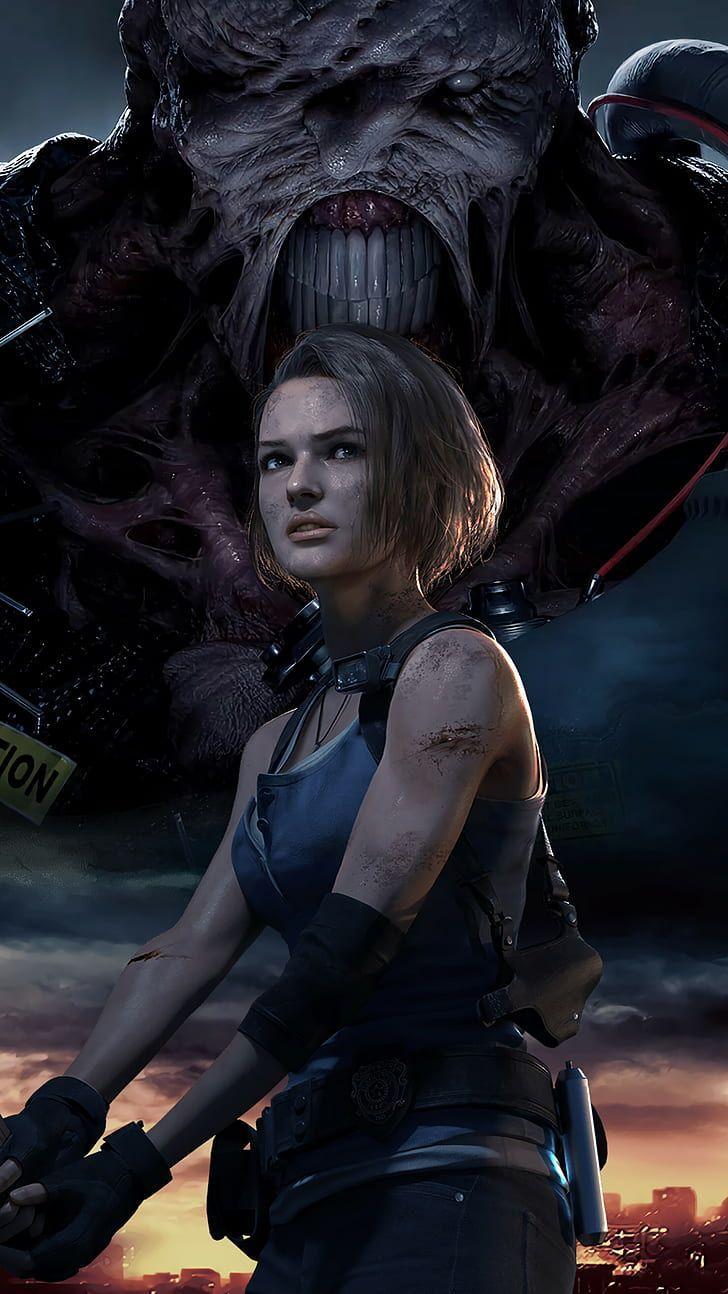Jill Valentine Nemesis Resident Evil Resident Evil 3 Resident