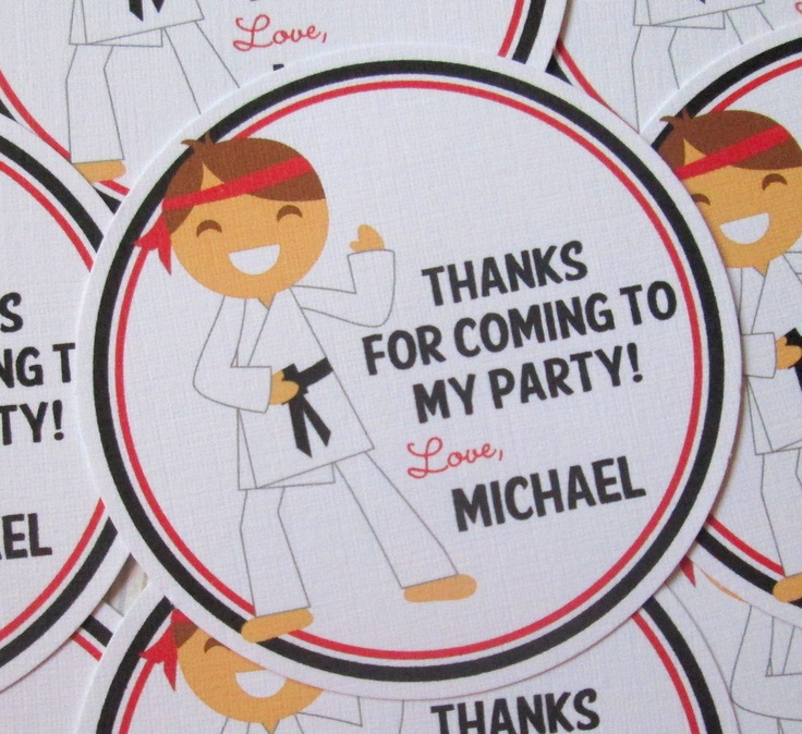 Unusual Taekwondo Party Invitations Pictures Inspiration ...