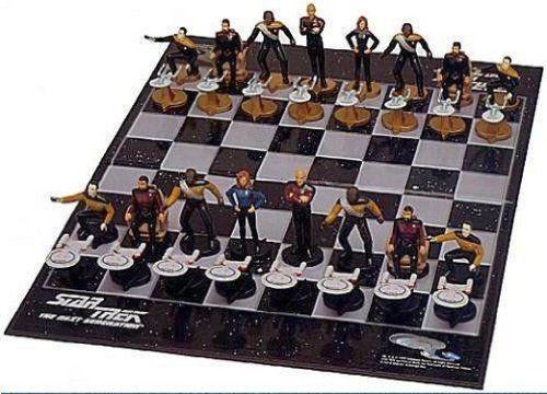 Star Trek Chess Set The Next Generation Best Themed Sets