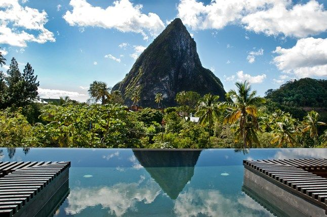 Oh, I love that view! Pool at Boucan by Hotel Chocolat in St. Lucia  #RePin by AT Social Media Marketing - Pinterest Marketing Specialists ATSocialMedia.co.uk