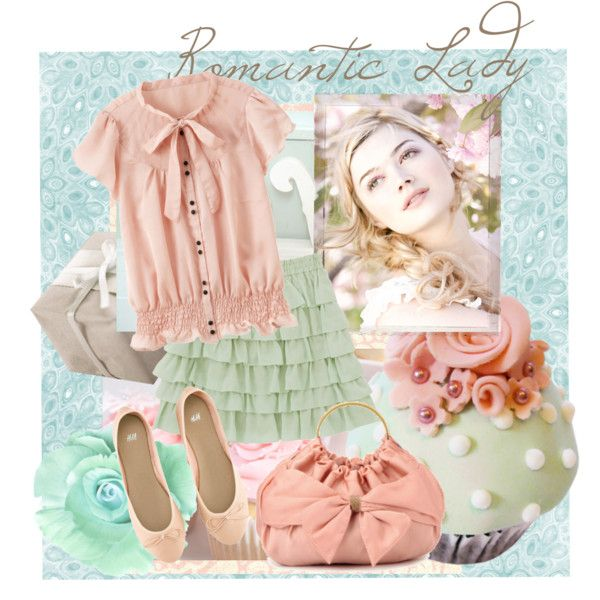 A fashion look from October 2012 featuring pink top, green skirt and ballet flats. Browse and shop related looks.