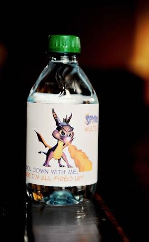 Skylanders Water Bottle Free Printable   Life in a Larger Story