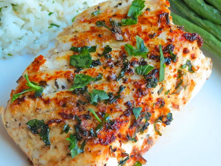 Pan Seared Halibut With Butter Herb Sauce — Too Precious for Processed