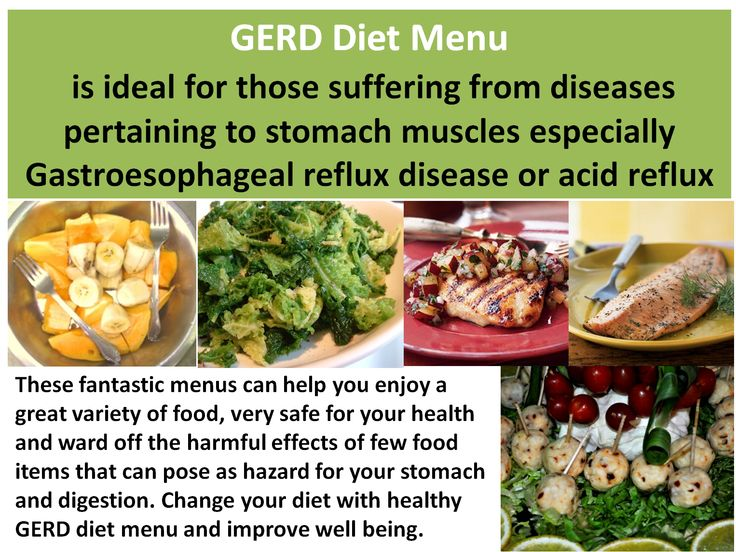 This GERD diet menu is helpful for those suffering from acid reflux and heartburn. #acidrefluxdiet #GERD #heartburn #healthyfood