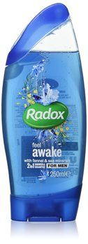 Radox Men Shower Gel Radox Men Shower Gel 250ml How do oyu want to feel? Feel fresh energising sea breeze rouse you from the state of sleep with Feel awake. (Barcode EAN=8712561824415) http://www.MightGet.com/january-2017-12/radox-men-shower-gel.asp