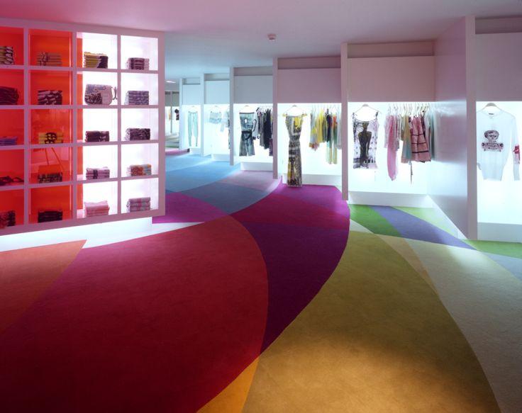 CUSTO flagship store Madrid by Teresa Sapey  Photo Credit A. L. Baltanas