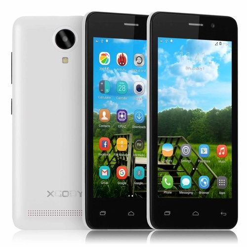 """4.5"""" XGODY G12 3G Android Phones Smartphone Dual SIM Android 5.1 Mobile Phone 4 Core (Color: White)"""