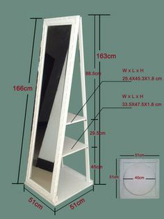 Diy full length mirror frame google search inspiration for Large stand up mirror