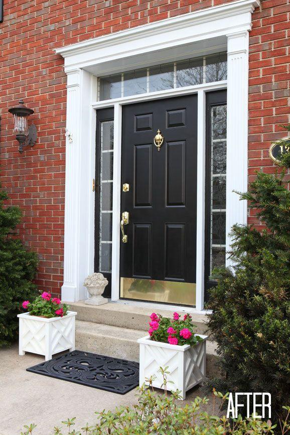 895 best images about casa on pinterest paint shelves - How to paint a steel exterior door ...