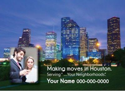 Texas - Houston Realtor Postcard  http://postcardspromo.com