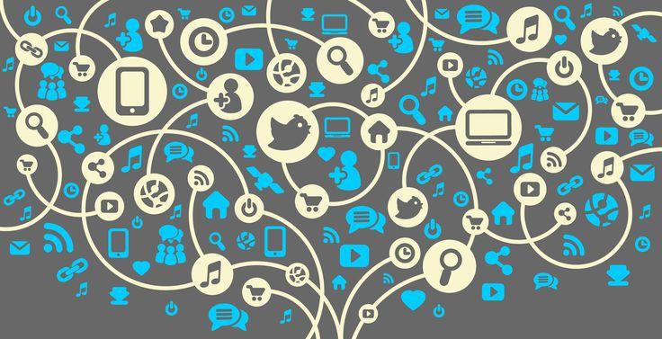 Redes sociales verticales y horizontales. #RedesSociales #SocialMedia
